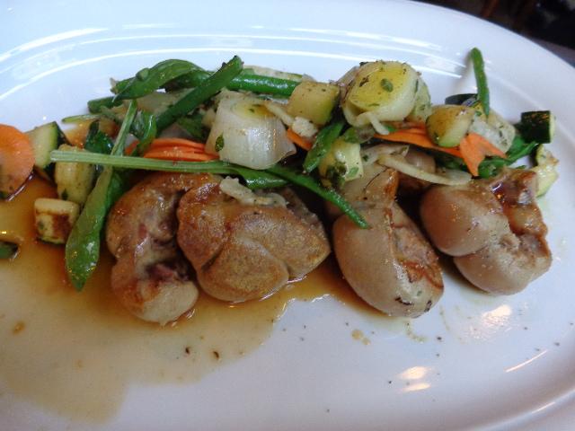 Rognon aux légumes © GP