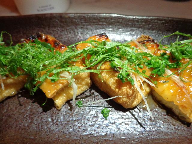 Tofu caramélisé © GP