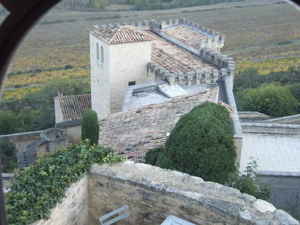Vue de la terrasse © GP