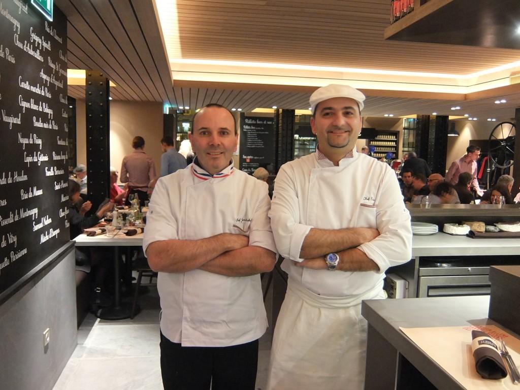 Jean-Michel-Bannwart et Eric Castandet © GP