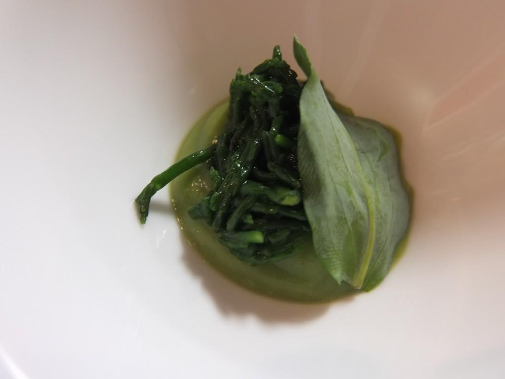 Mousseline de brocolis et wasabi © GP