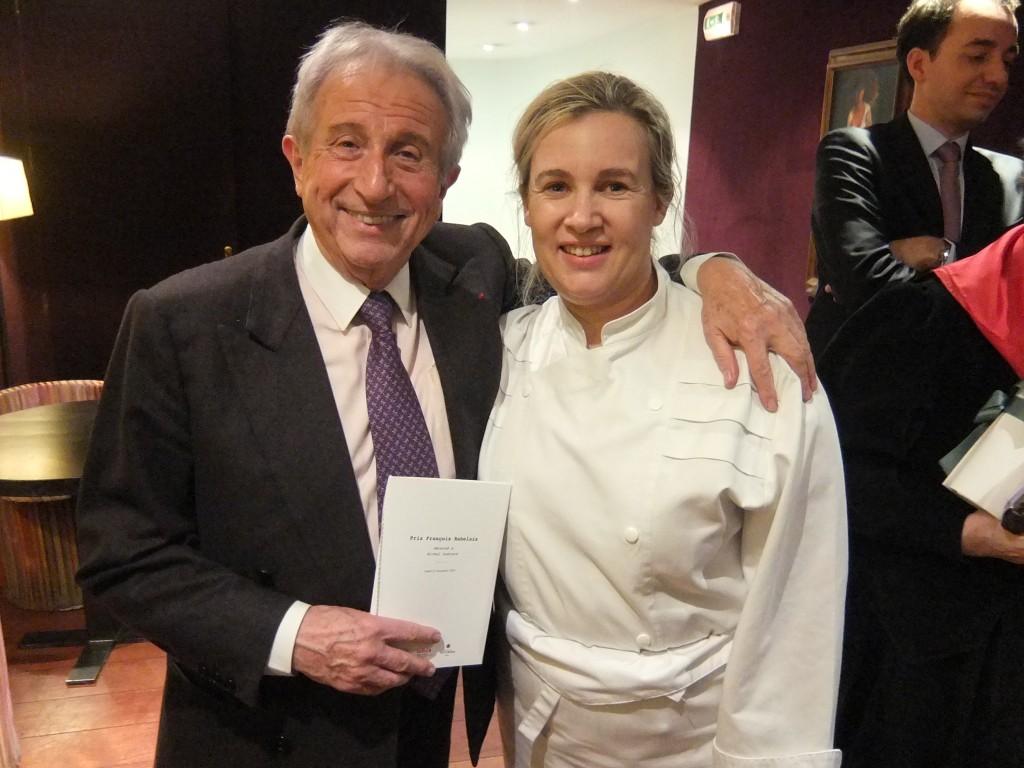 Michel Guérard et Hélène Darroze © GP