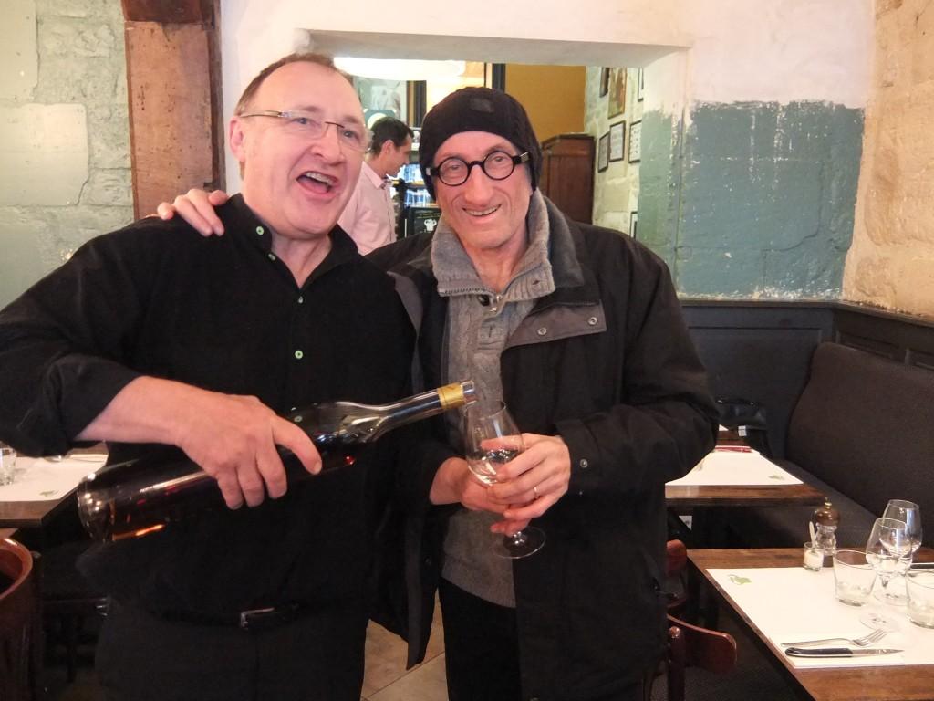 Gilles Lamiot et JF Derec © GP
