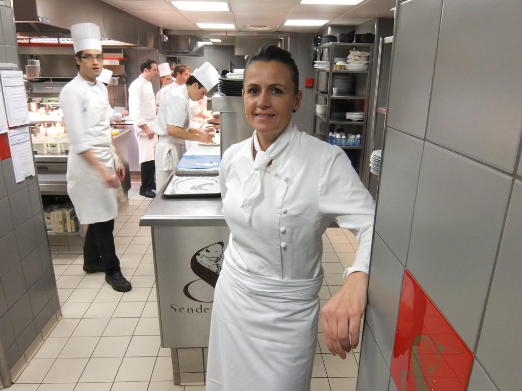 Marie Soria en cuisine © GP