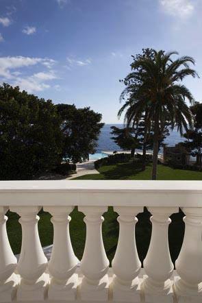 La vue depuis la terrasse ©Maurice Rougemont