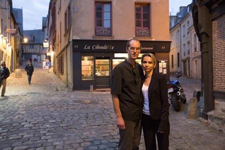 Marie-Jeanne et Stéphane Bonneau ©Maurice Rougemont