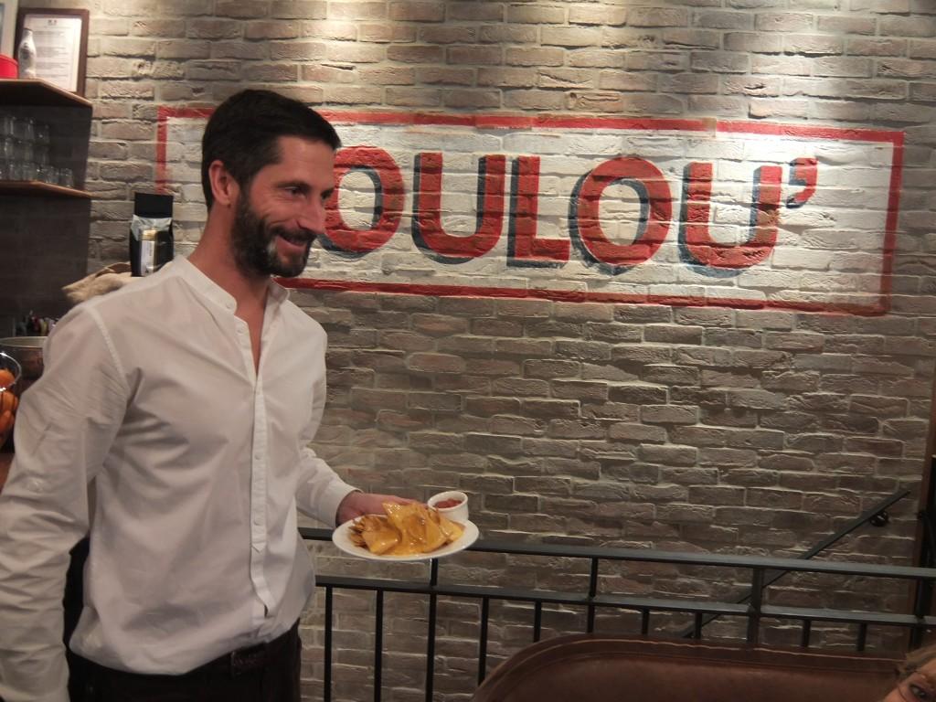 Edouard Montin et les nachos © GP