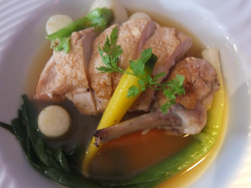 Volaille farcie au foie gras ©GP