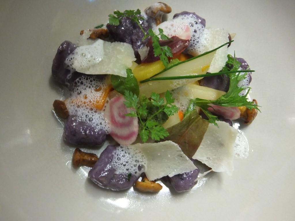 Gnocchi aux légumes du potager © GP