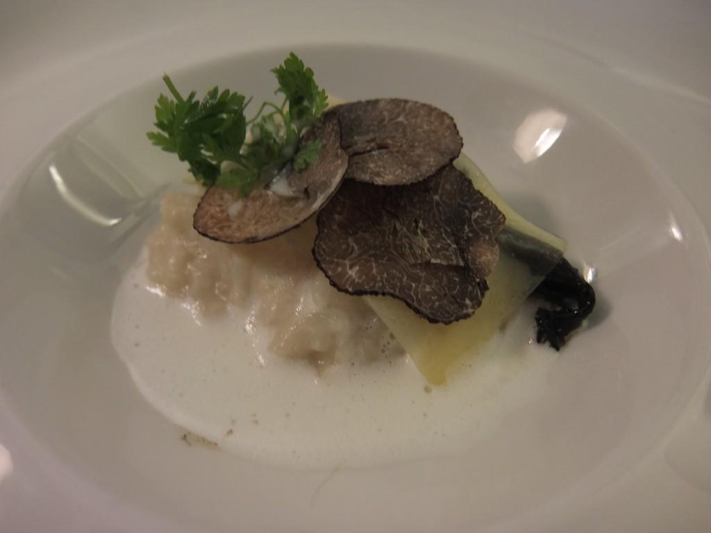 Risotto aux truffes © GP