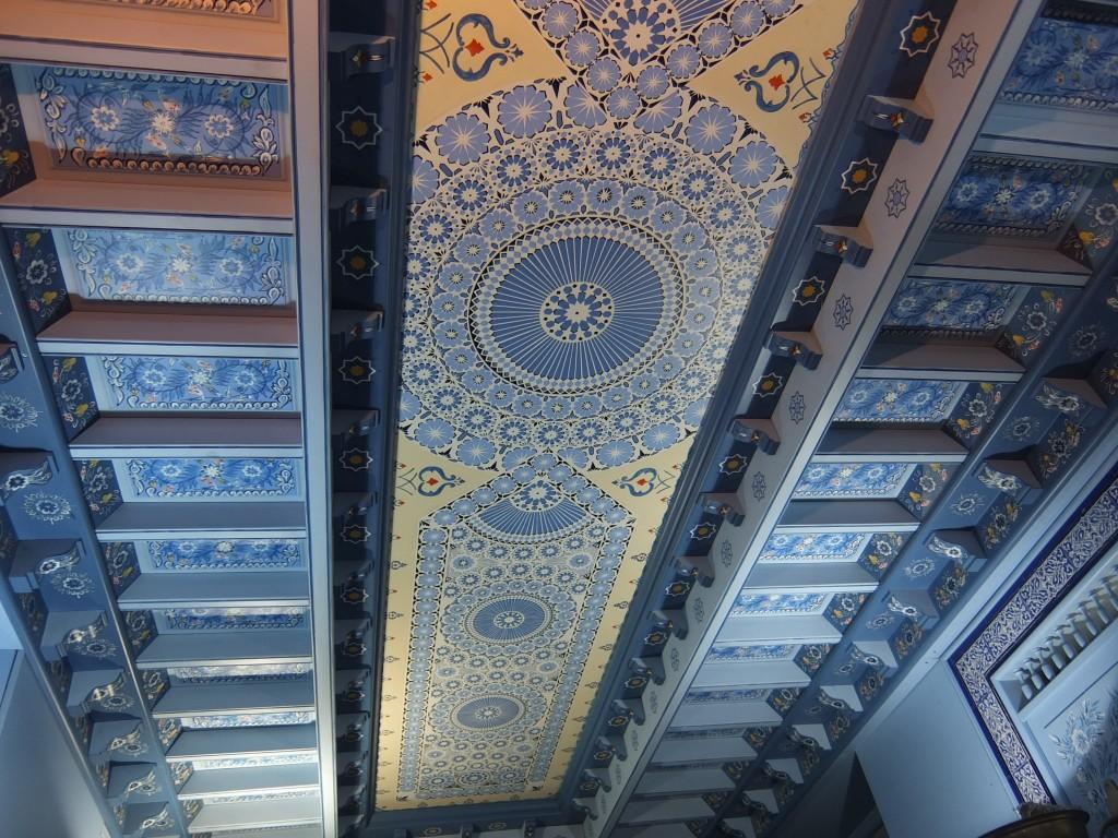 Le plafond © GP