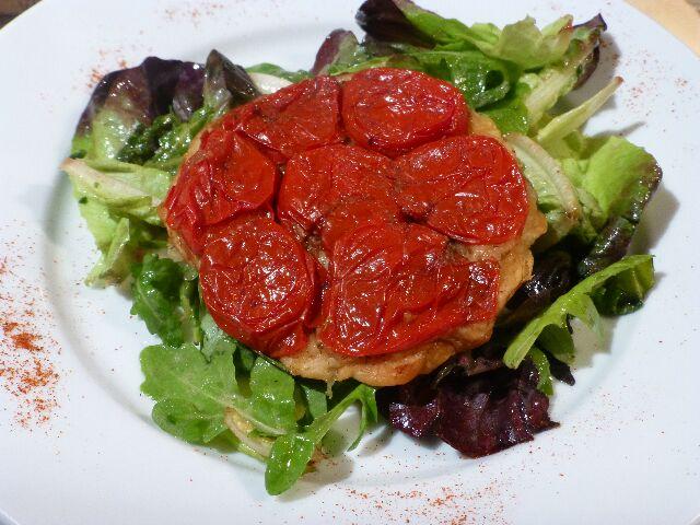 Tatin de tomates © DC