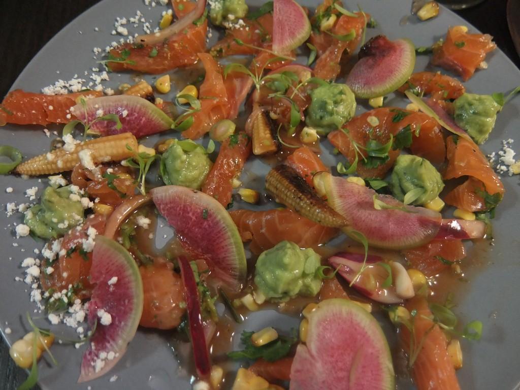 Ceviche au saumon © GP