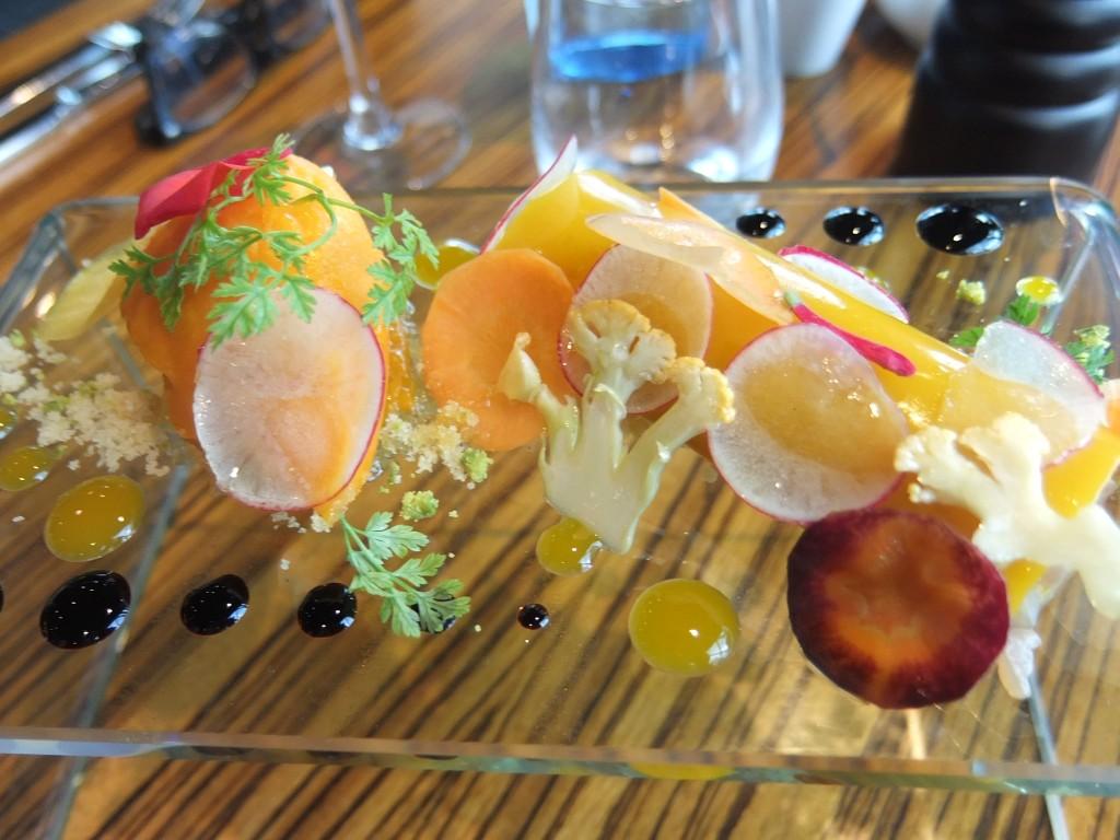 Sushi de thon et mangue © GP