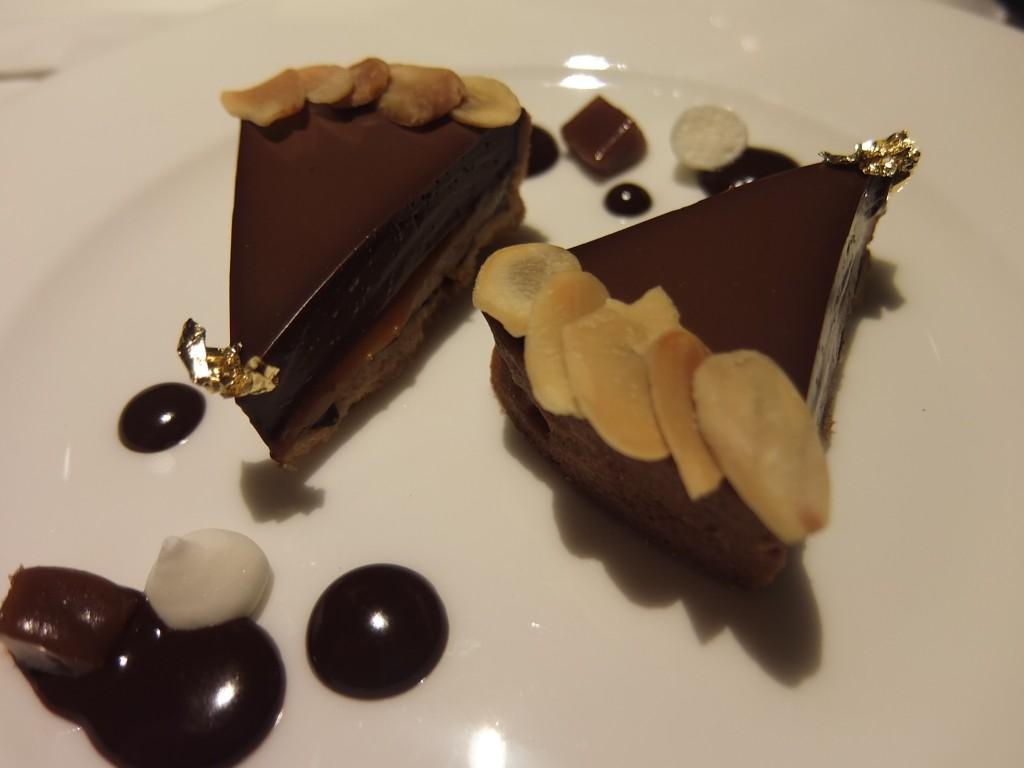 Tarte chocolat-caramel © GP