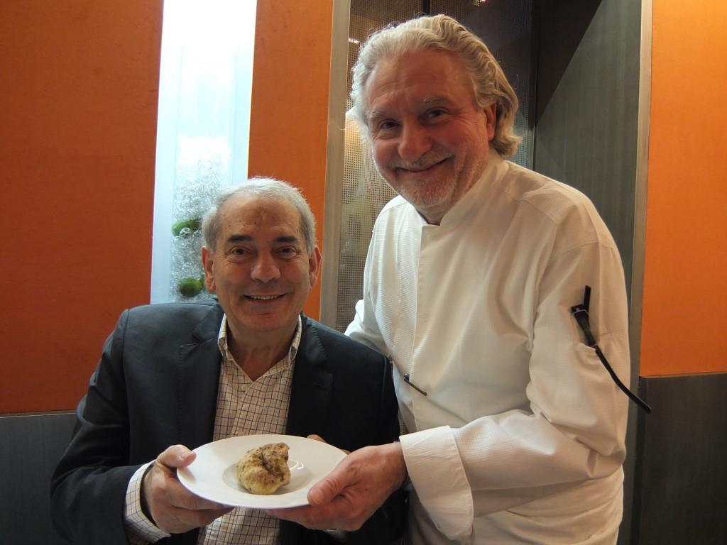 Shalom Kadosh, Alain Dutournier et la truffe blanche © GP