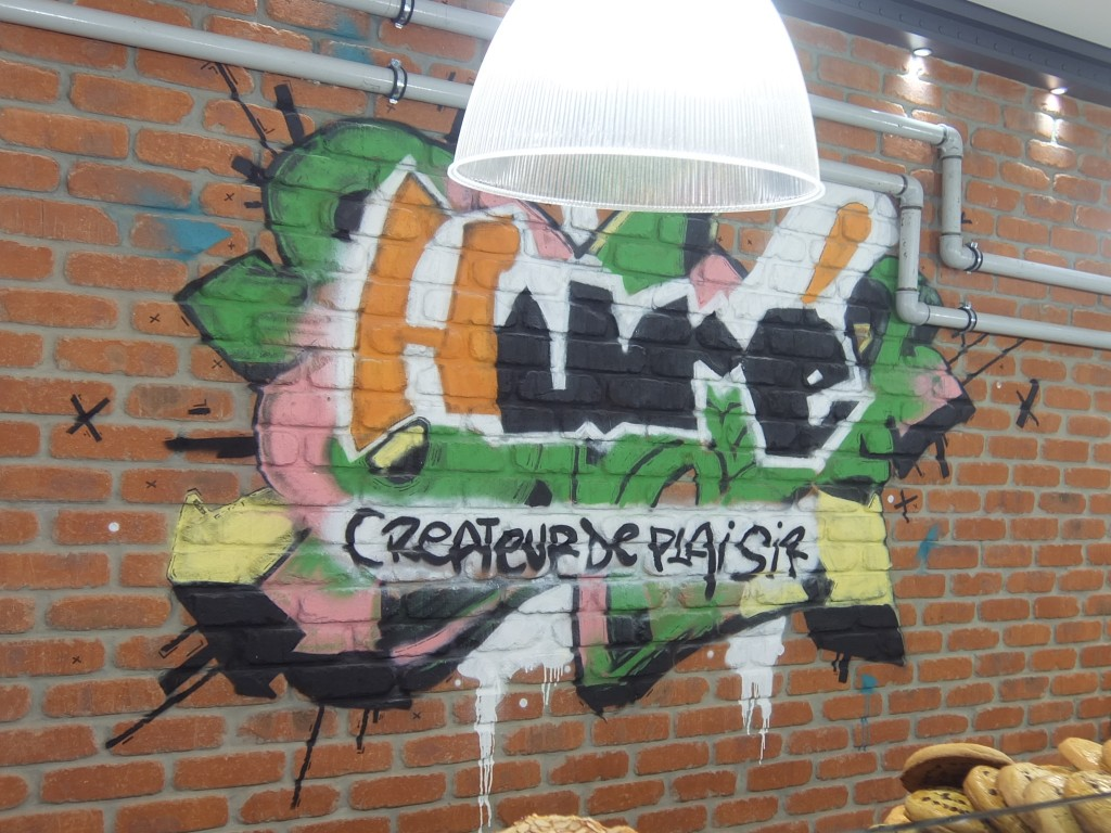 Fresque murale © GP