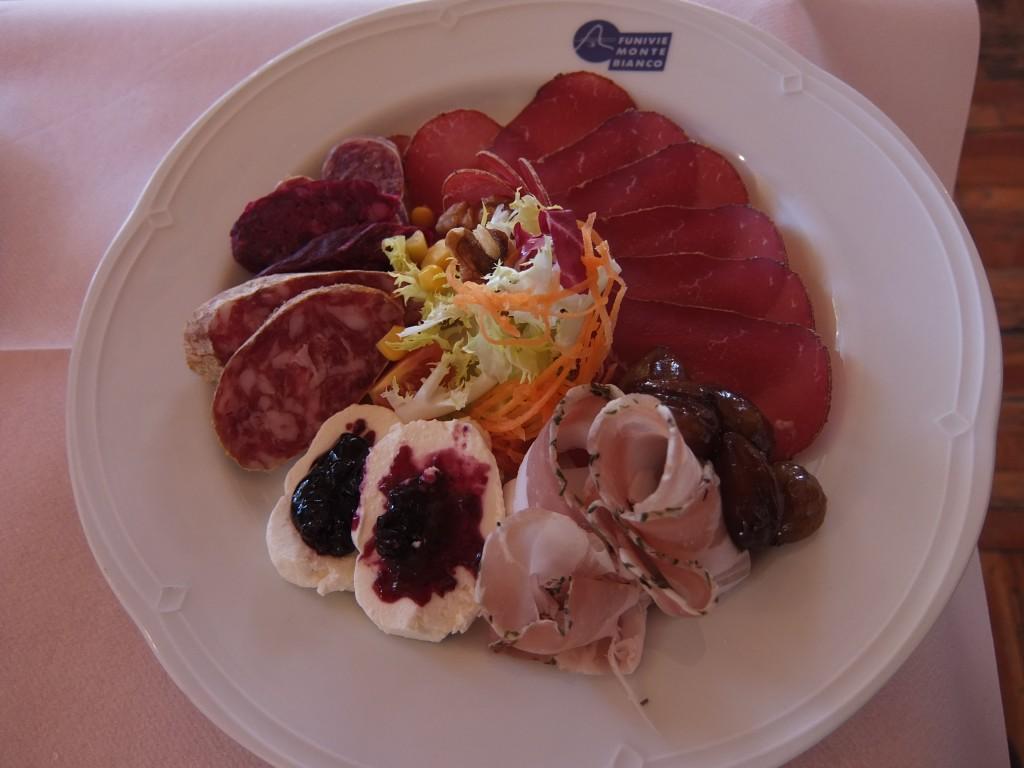 Assiette des produits valdotains © GP