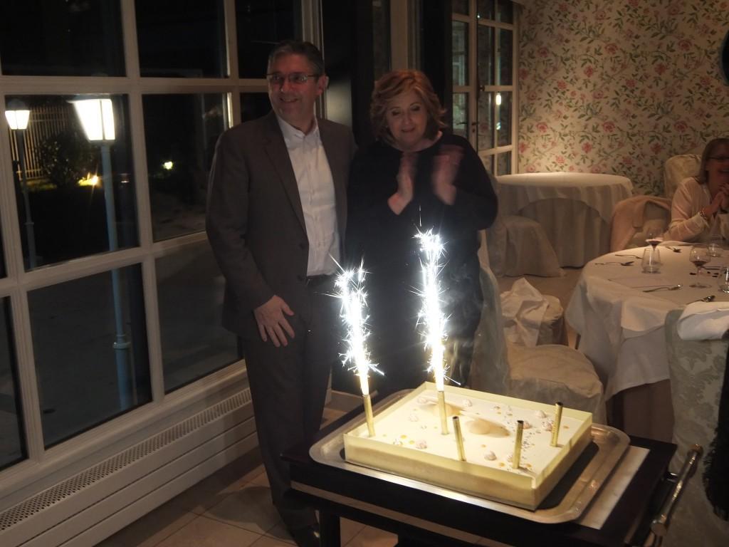Massimo et Patricia Mori © GP