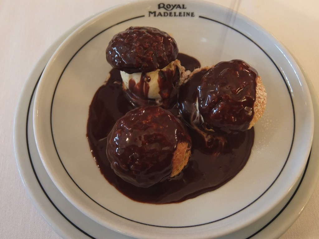 "Profiteroles ""minute"" © GP"