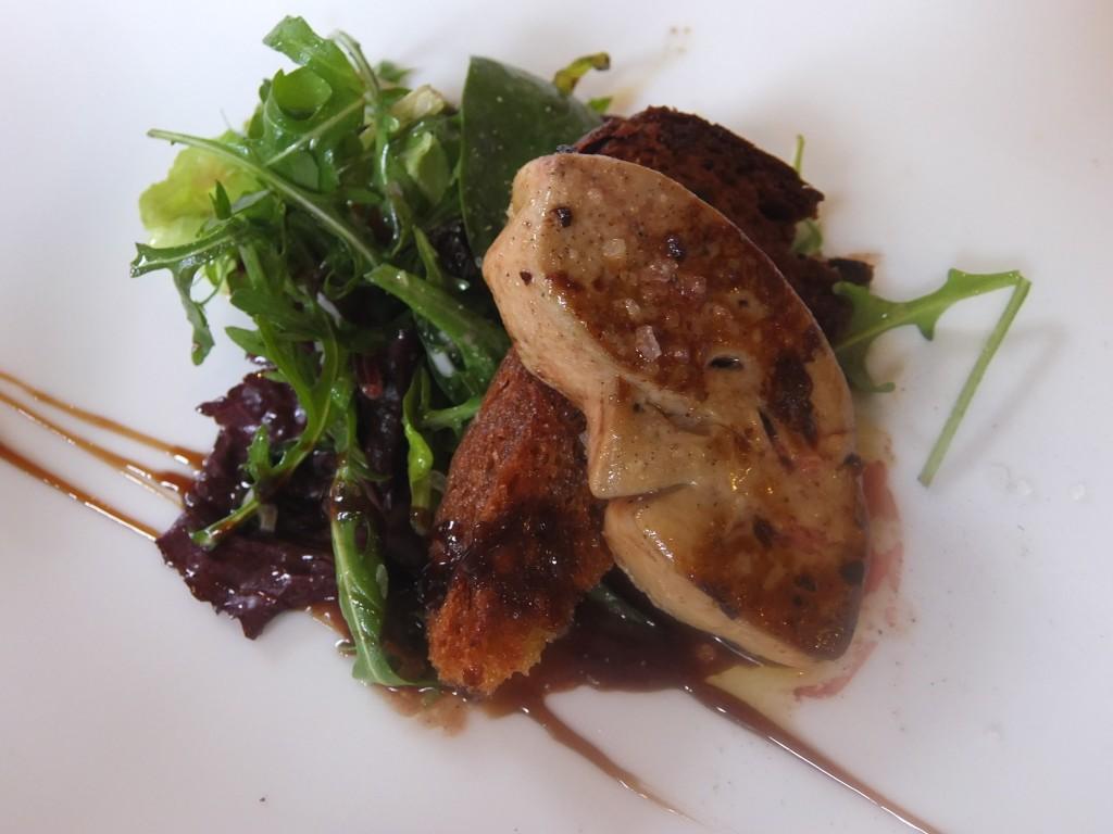 Foie gras chaud et kougelhof © GP