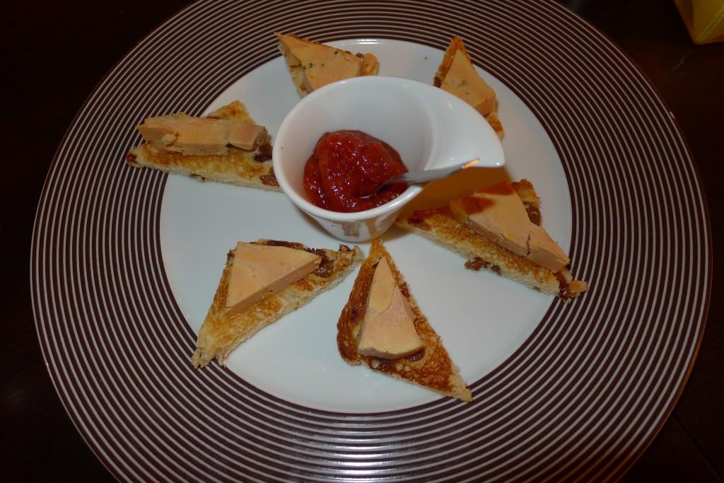 Foie gras mi-cuit au cognac ©JPE