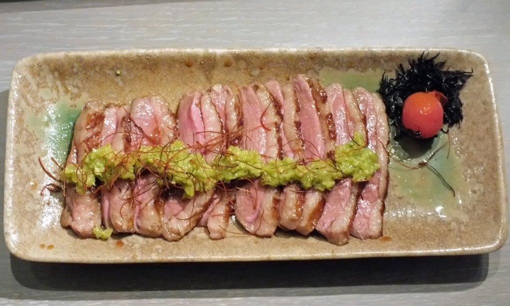Magret de canard sauce wasabi ©AA
