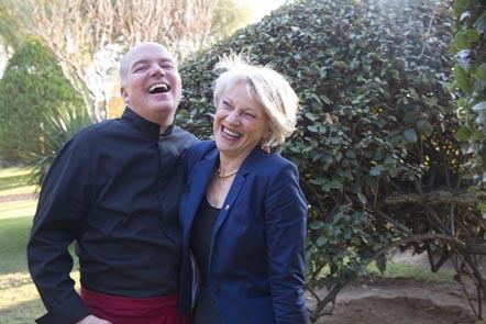 Michel et Monique Kayser © Maurice Rougemont
