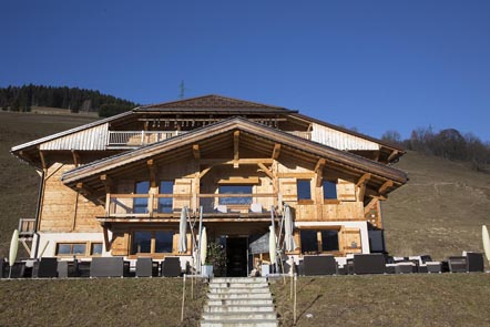 Le chalet © Maurice Rougemont