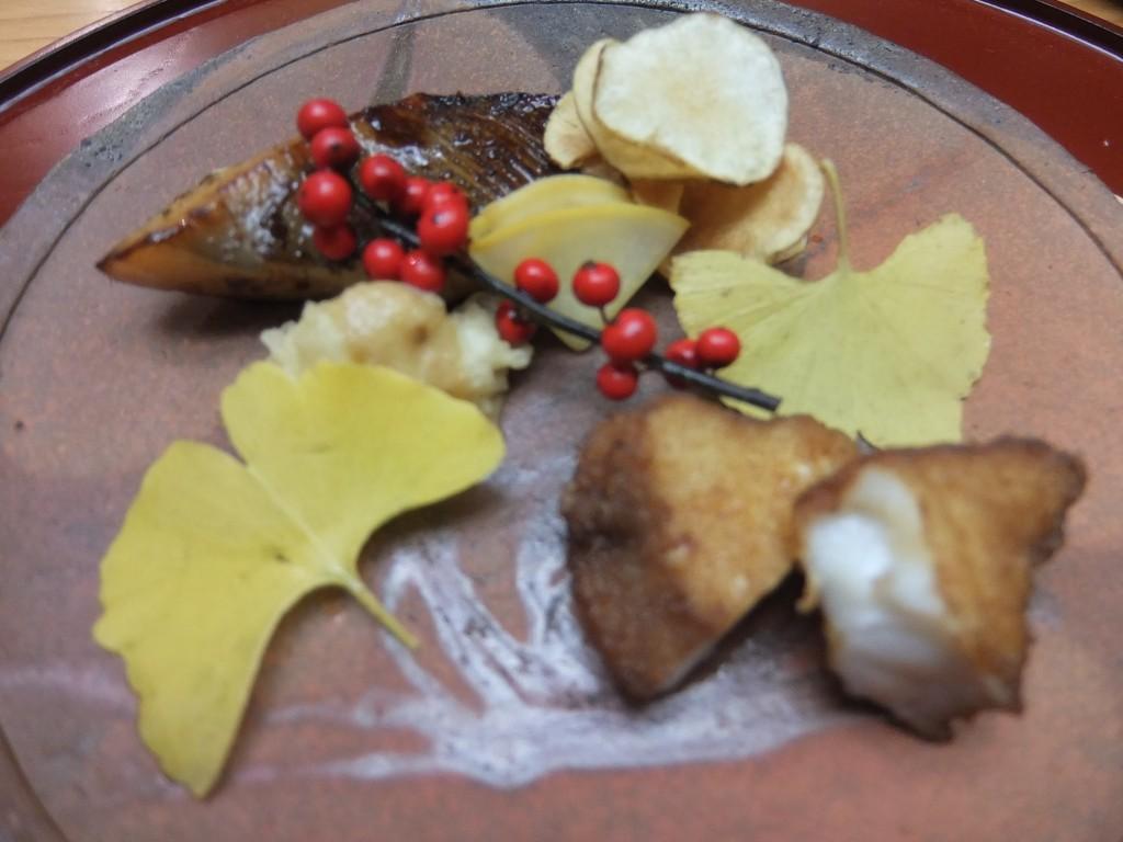 Maquereau grillé et lotte frite © GP