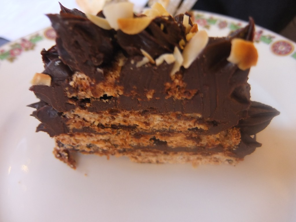 Dacquoise chocolat © GP