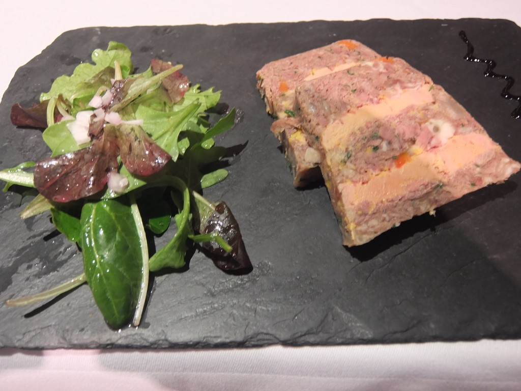Terrine de queue de boeuf au foie gras © GP