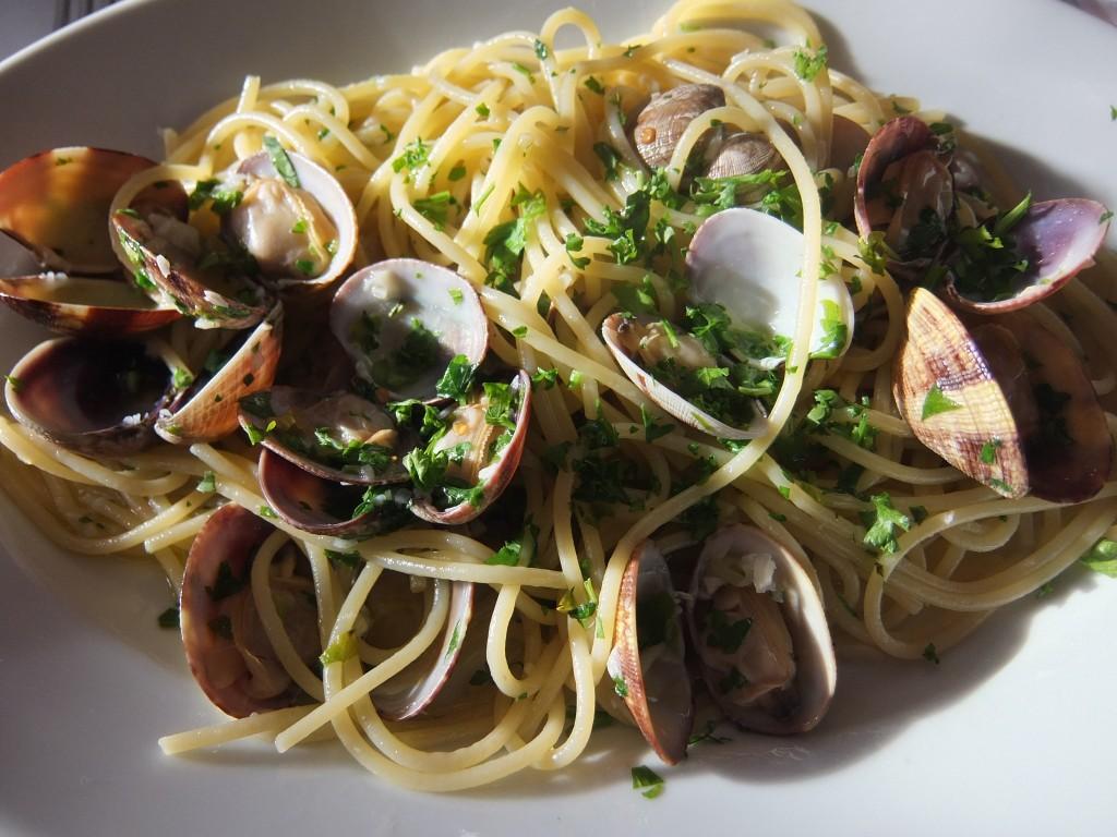 Spaghetti aux palourdes © GP