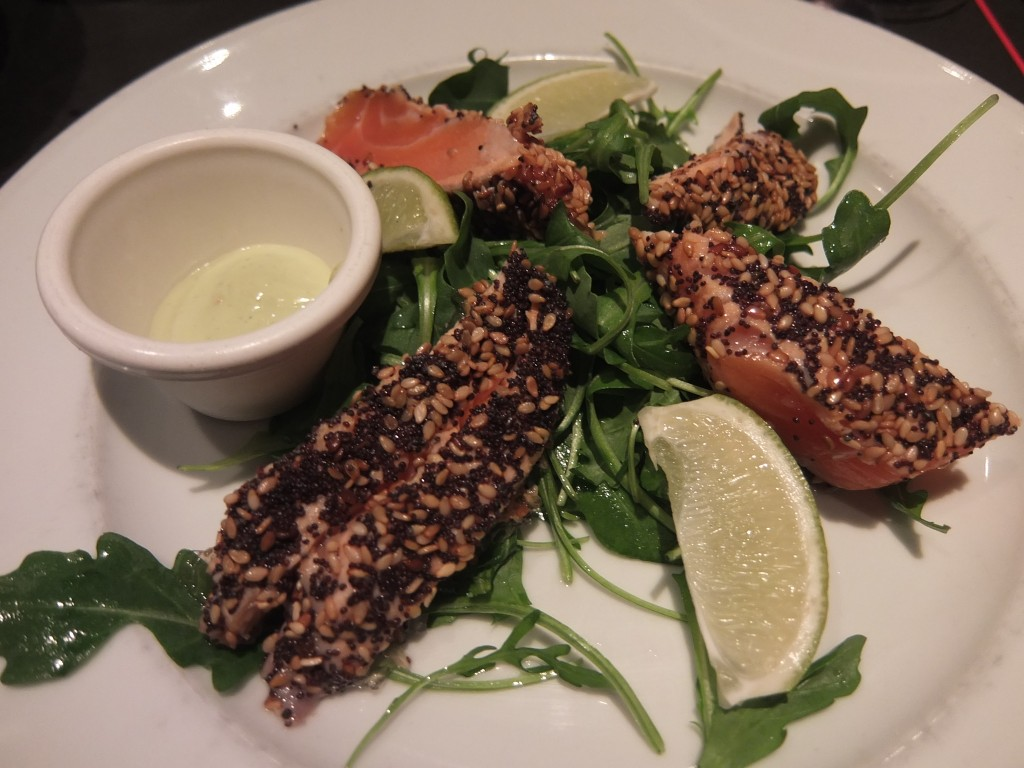 Mi-cuit de saumon © GP