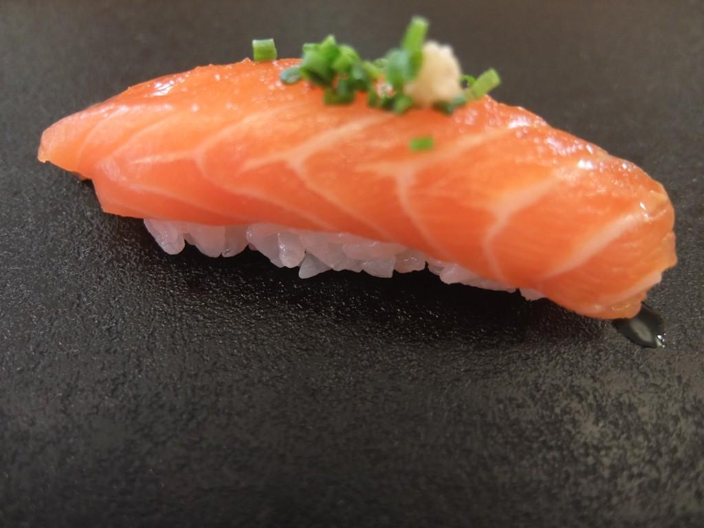 Sushi de saumon © GP