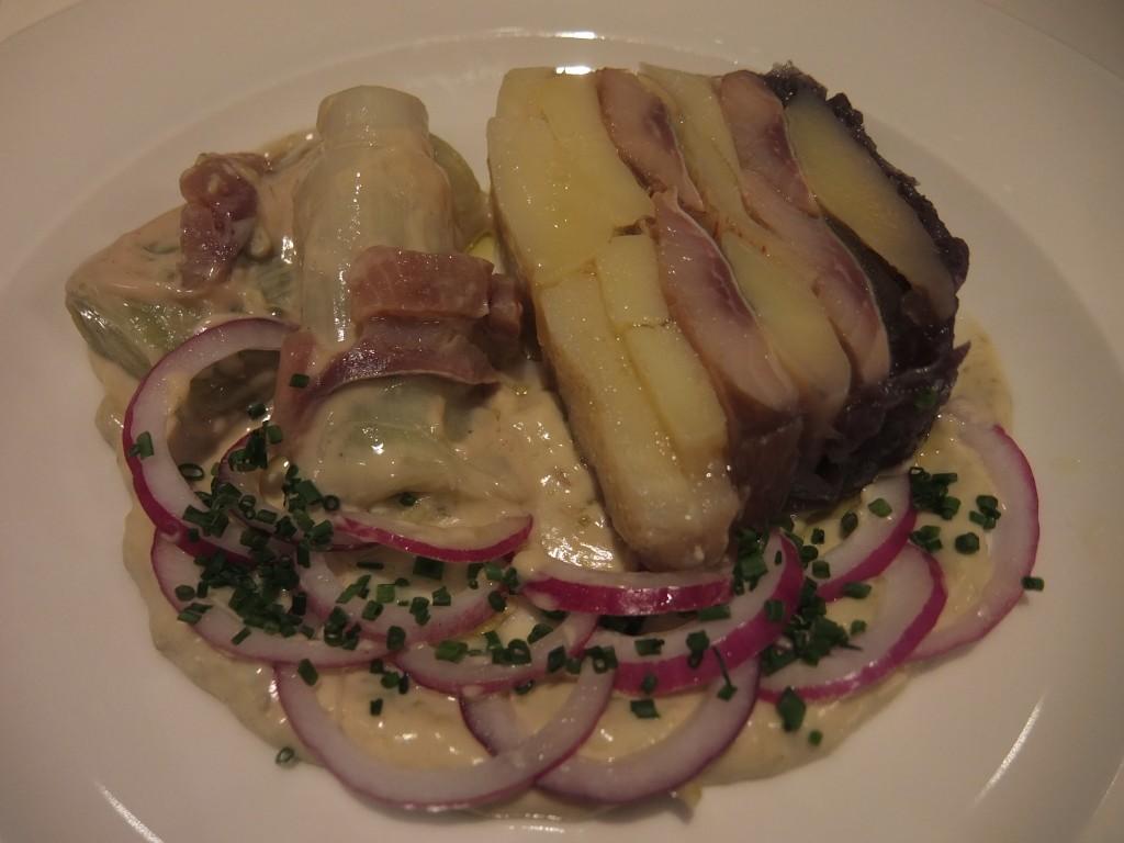 Terrine de harengs et pommes de terre © GP