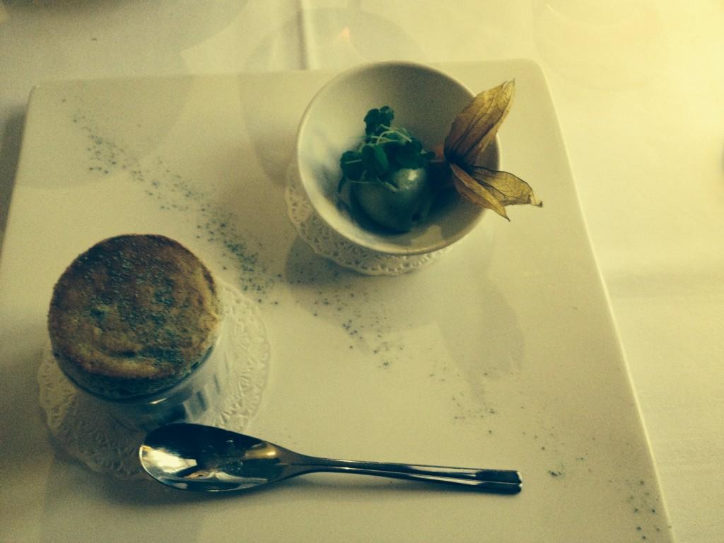 Soufflé au thé vert © GP