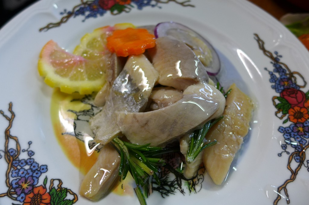 Hareng à l'assiette © GP