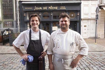 Stellio et Jean-François © Maurice Rougemont