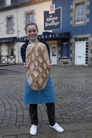 La maison du boulanger boulanger lannilis izard le for Le salon lannilis
