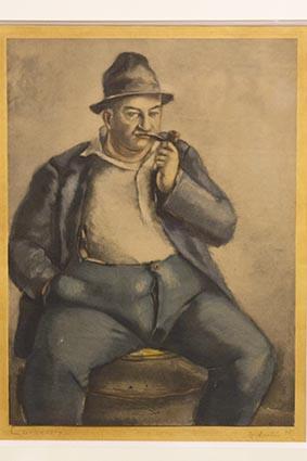 Portrait de Curnonsky © Maurice Rougemont