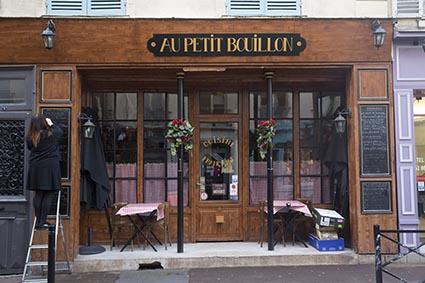 Au petit bouillon restaurant saint germain en laye le - Cours de cuisine saint germain en laye ...