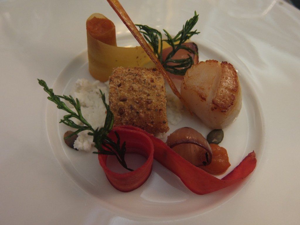 Saint-jacques et carottes © GP