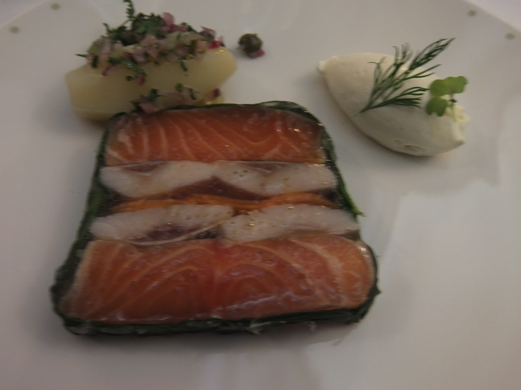 Terrine de hareng et saumon ©GP