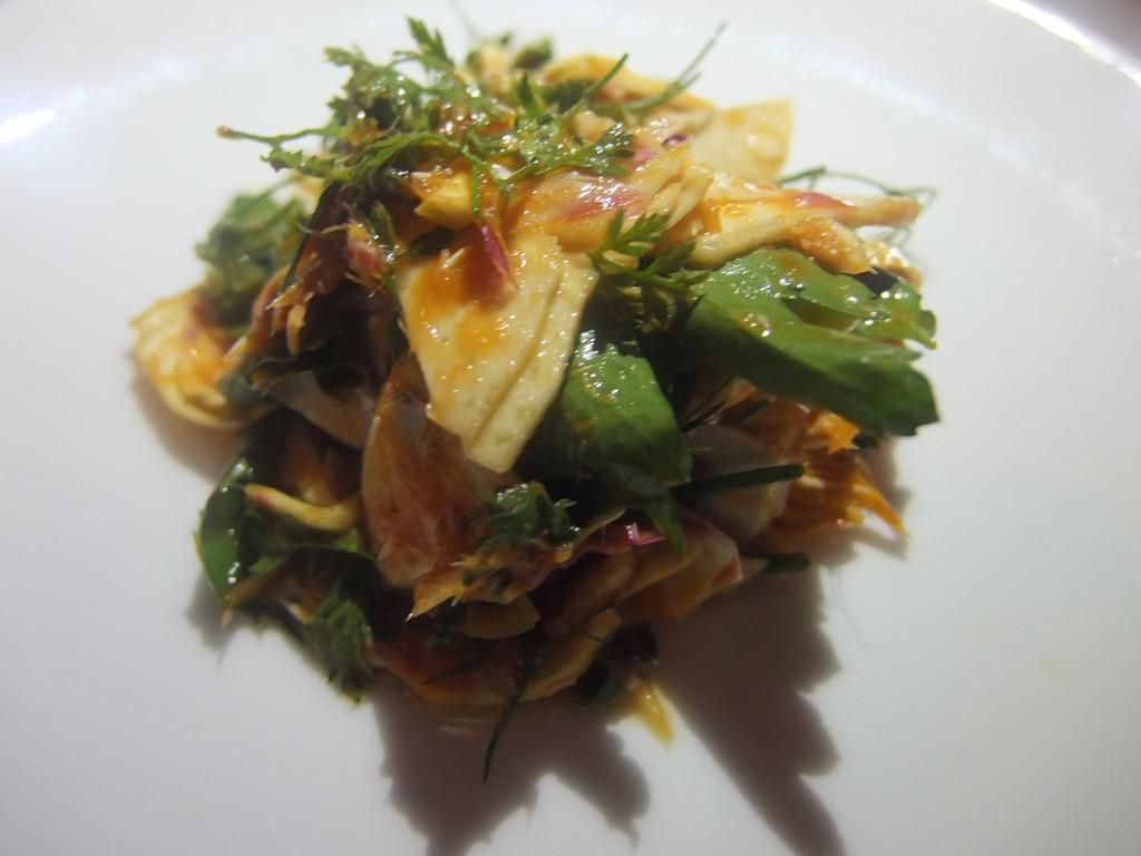 Salade d'artichaut poivrade © GP