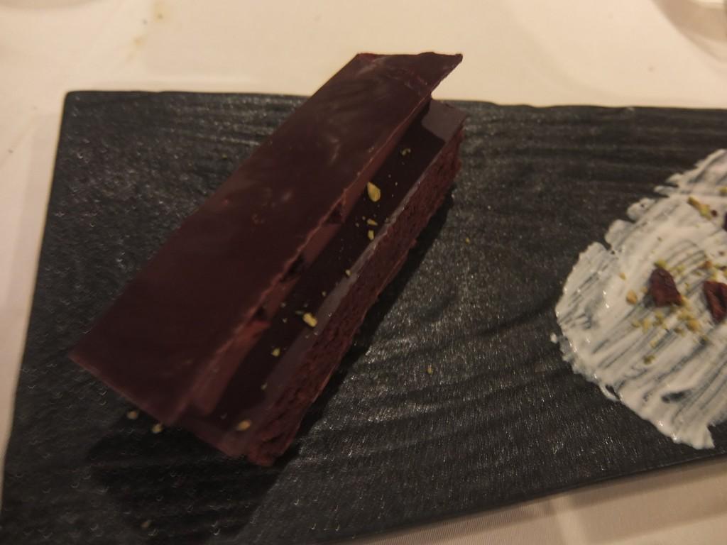 Gâteau au chocolat noir © GP