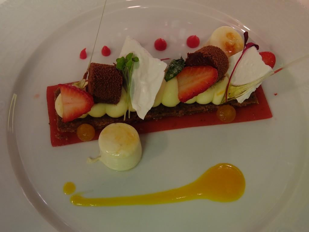 Ganache au chocolat et fruits rouges © GP