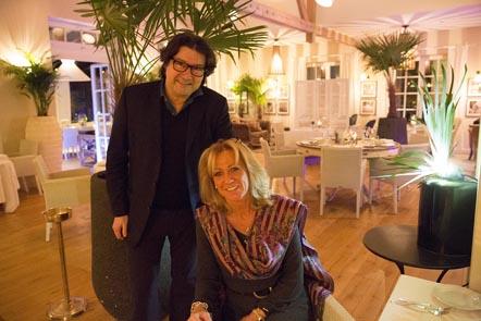 Marc Hobscheit et sa directrice © Maurice Rougemont