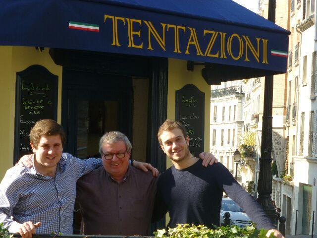 Francesco, Daniele et Bruno ©DC