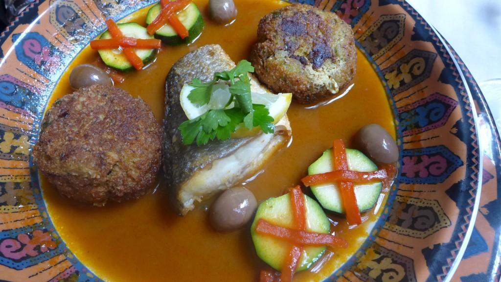 Tagine de boulettes de poissons © GP